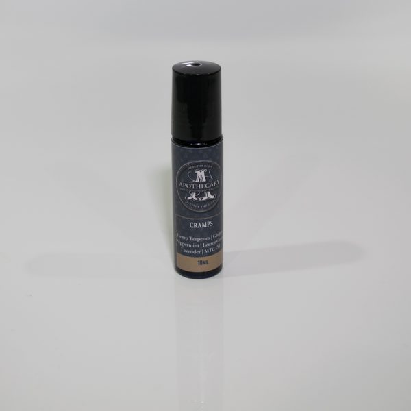 THC and CBD Infused Cramp Relief Roll-On Applicator