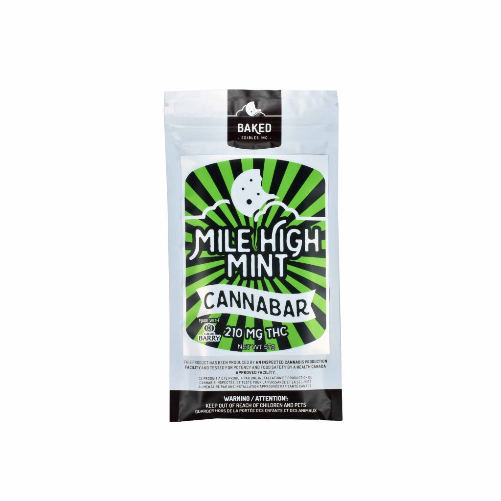Baked Edibles – Mile High Mint Cannabar